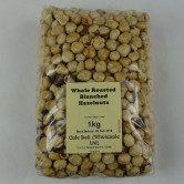 Whole Roasted Blanched Hazelnuts 1kg