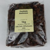 Turkish Sultanas 1kg