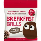 Strawberry & Vanilla Breakfast Balls 10 x 45g