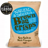 Brown Bag Sea Salt & Malt Vinegar 40g