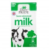 Long Life Semi-skimmed Milk 12 x 1ltr
