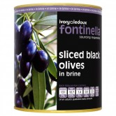Sliced Black Olives 3.1kg