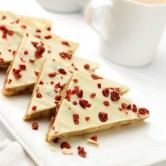 White Chocolate and Cranberry Tiffin x 12