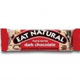 Eat Natural Dark Chocolate Cranberry and Macadamias 12 x 45g