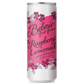 Belvoir Raspberry Lemonade 12 x 25cl Cans