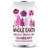 Whole Earth Organic Cranberry 24 x 330ml