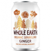 Whole Earth Organic Sparkling Ginger 24 x 330ml