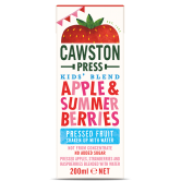 Cawston Kids Apple and Summer Berries 18 x 200ml