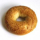 Golden Linseed Bagels 24 x 115g