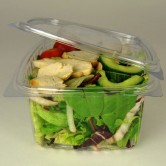 Salad Box And Lid 500cc x 800