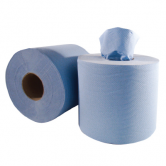Blue Centrefeed Tissue 2 Ply x 6