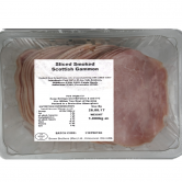 Sliced Smoked Scottish Gammon 80% 1kg