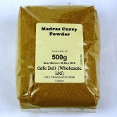Madras Curry Powder 500g