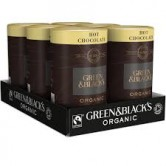 Green & Black's Organic Hot Choc 6 x 300g