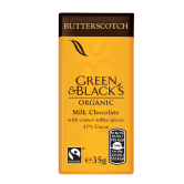 Green and Black's Butterscotch Chocolate 30 x 35g