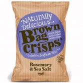 Brown Bag Rosemary & Sea Salt Crisps 40g