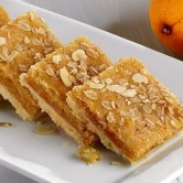 Vegan Apricot, Orange & Almond Slice x 15